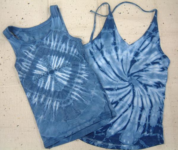 藍染めの作品