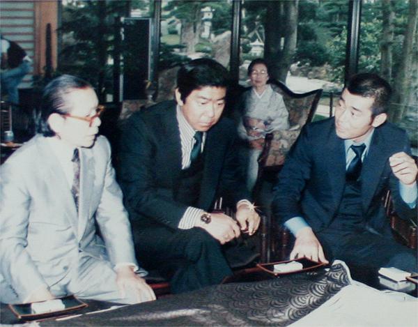 昭和58年4月テレビ朝日「西部警察」ロケ 石原裕次郎氏(故人)と渡哲也氏