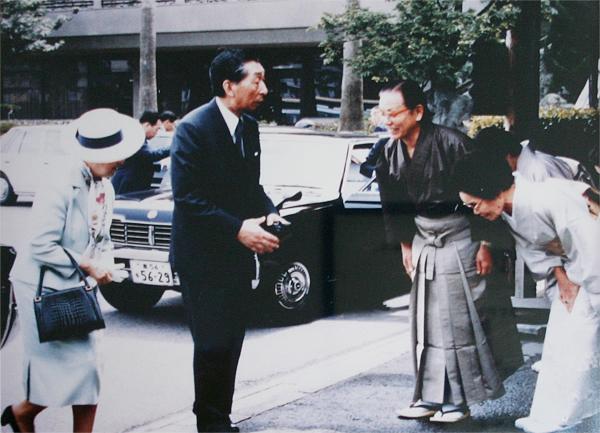 昭和59年5月高松宮殿下ご夫妻ご来訪