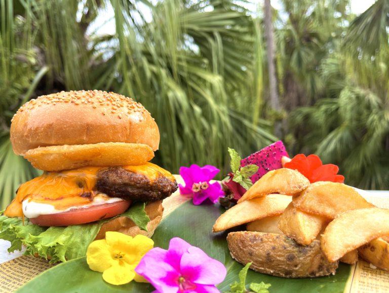 「奄美・沖縄 世界自然遺産」登録を記念してイルモーレで「奄美バーガー」を提供中